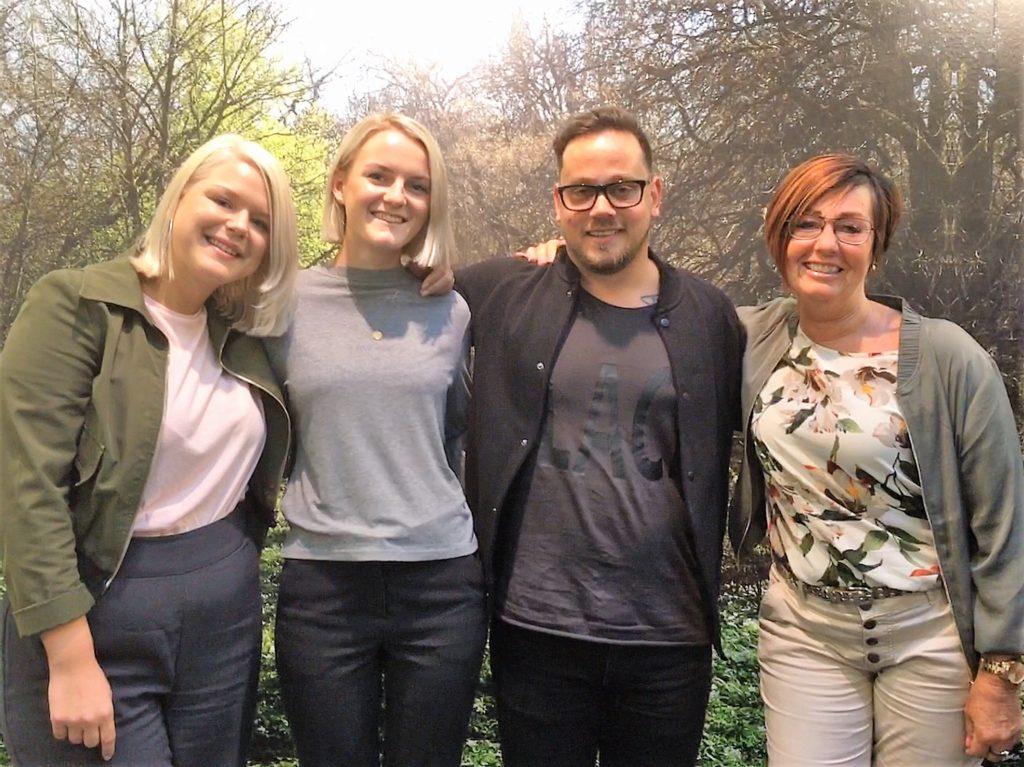 Alice, Anna, Darko & Helen på Kundcenter