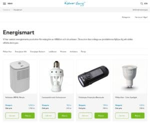 Kalmar Energis webbshop