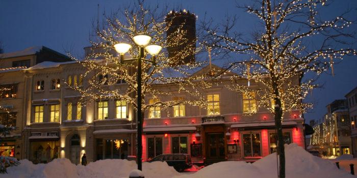 Kalmar, vinter